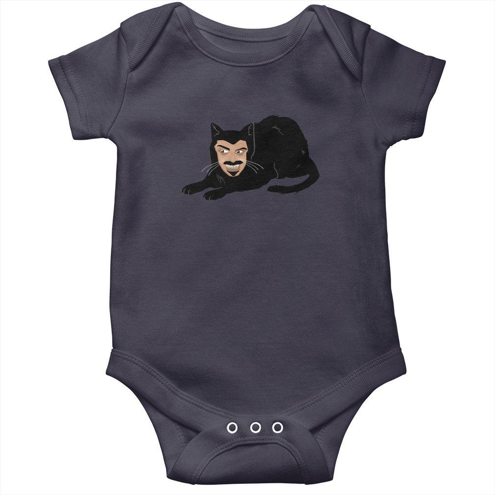Thumb Vlad the Cat (Gray) Baby Onesie