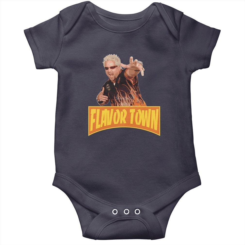 Thumb FLAVOR TOWN USA - GUY FlERl Baby Onesie