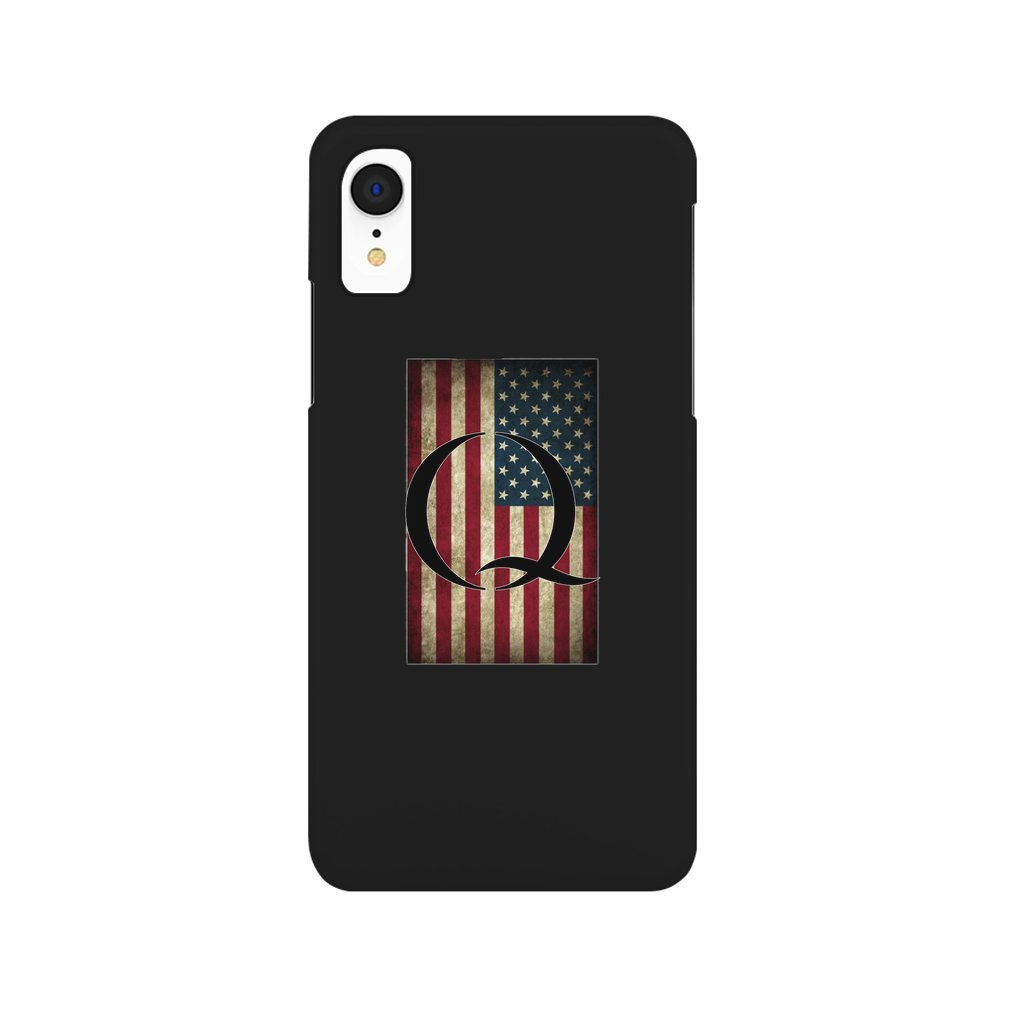 Thumb Q QANON AMERICA USA - WHERE WE GO ONE iPhone XR