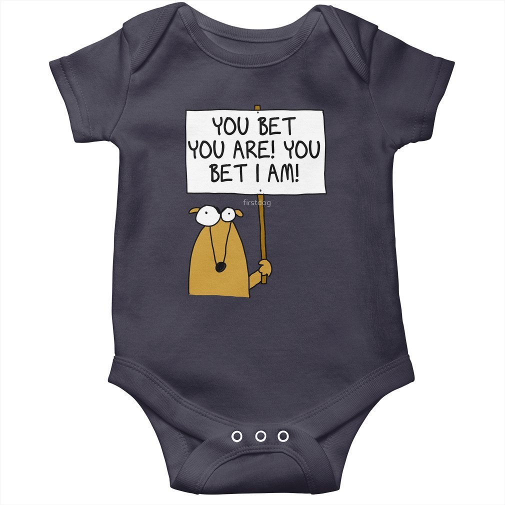 Thumb You bet you are! Baby Onesie