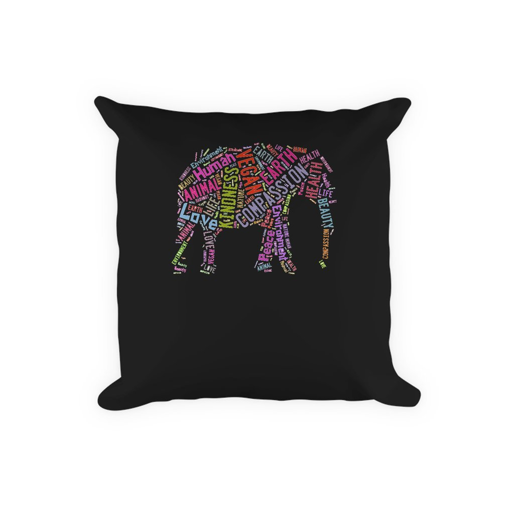Thumb Vegan Elephant Pillow