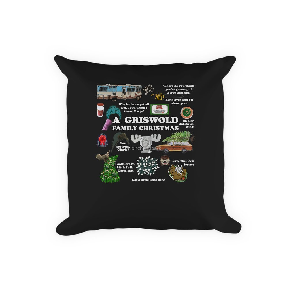 Thumb Christmas Vacation Collage Pillow