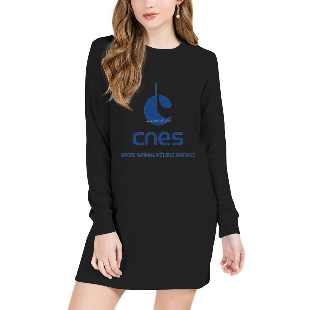 Thumb France Space Agency Current Logo (CNES) Sweater Dress