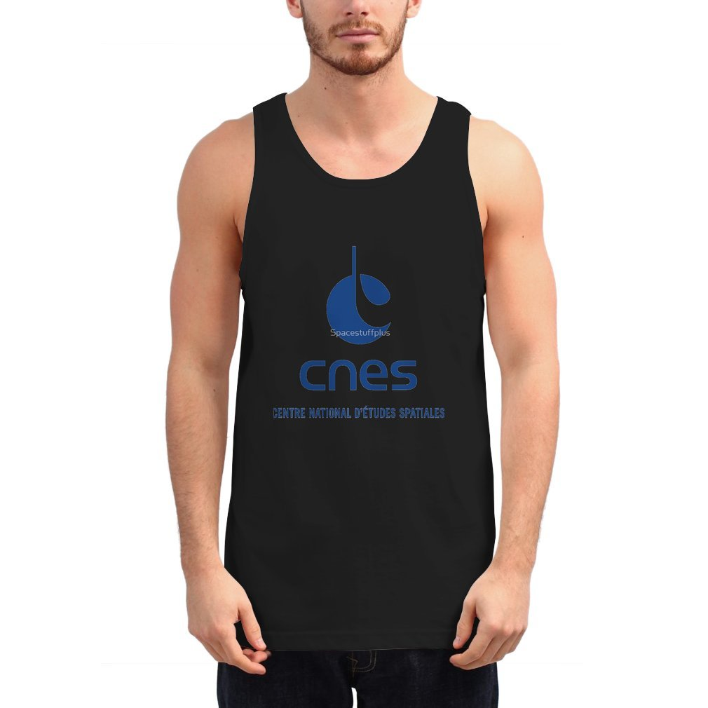 Thumb France Space Agency Current Logo (CNES) Unisex Tank Top