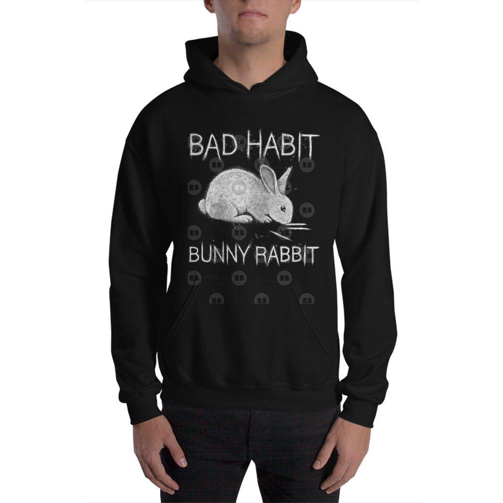 Thumb Bad Habit Bunny Rabbit Cocaine Hoodie