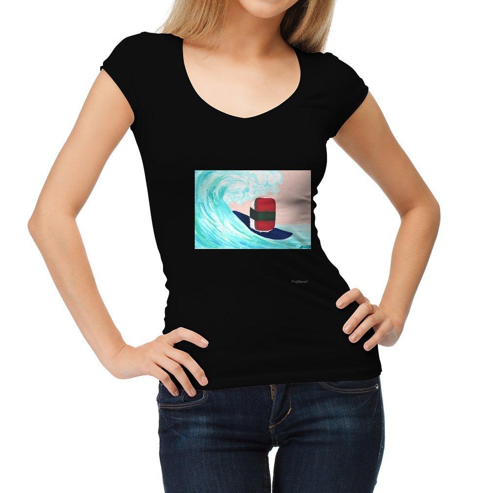 Thumb Surfer Spam musubi Women T Shirt