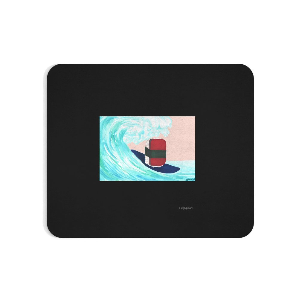 Thumb Surfer Spam musubi Mouse Pad