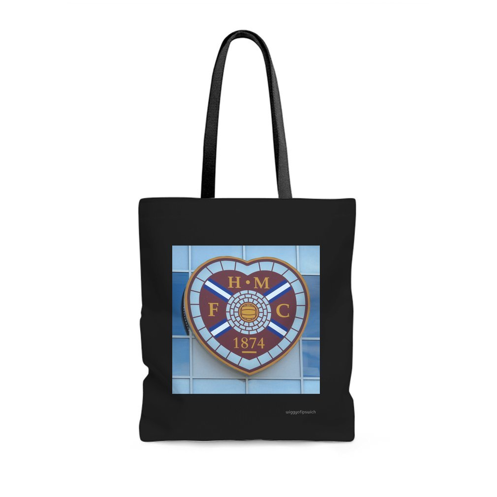 Thumb Hearts of Edinburgh Tote Bag