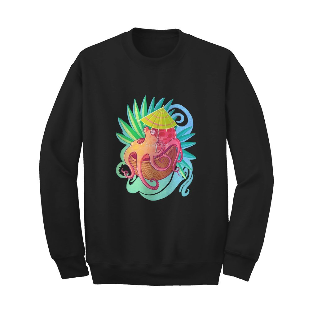 Octopus on the Beach - Sweat Shirt