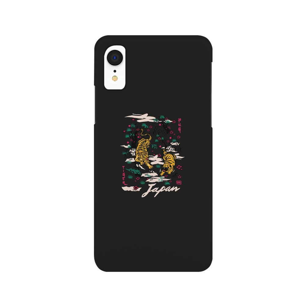 Thumb Tiger and Pug Japanese style iPhone XR