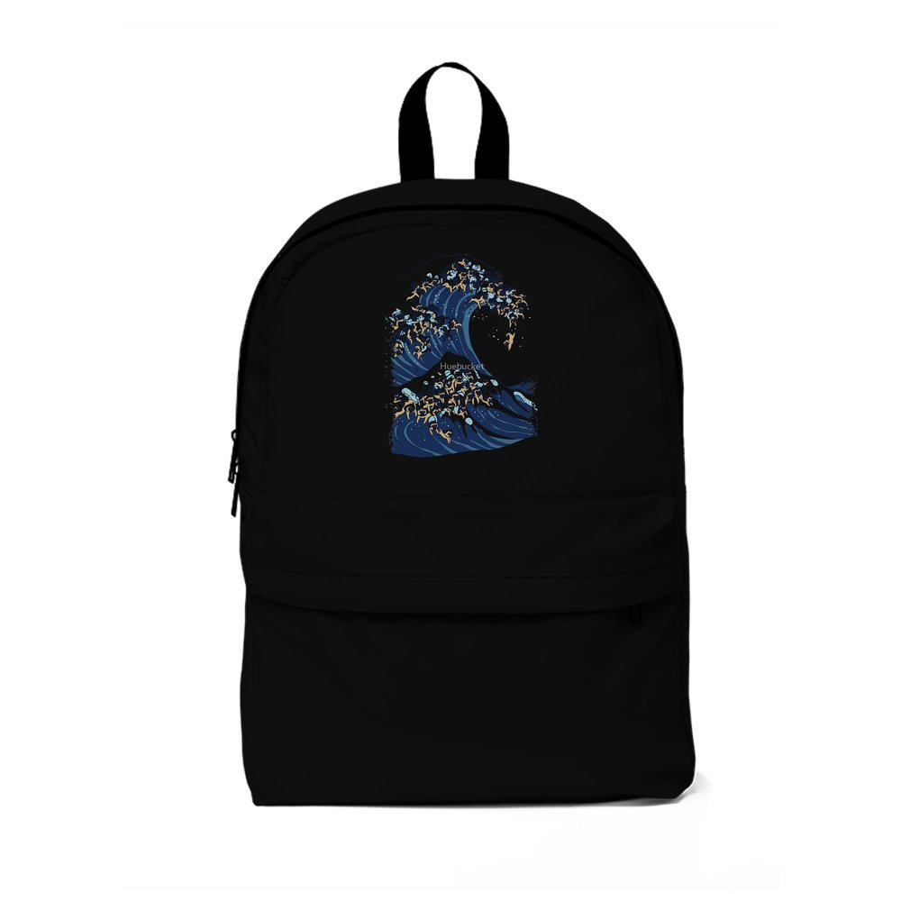 Thumb The Great Wave of Pug Backpack