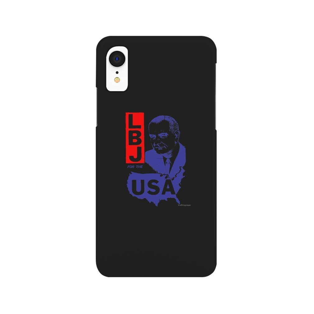 Thumb LBJ FOR THE USA iPhone XR