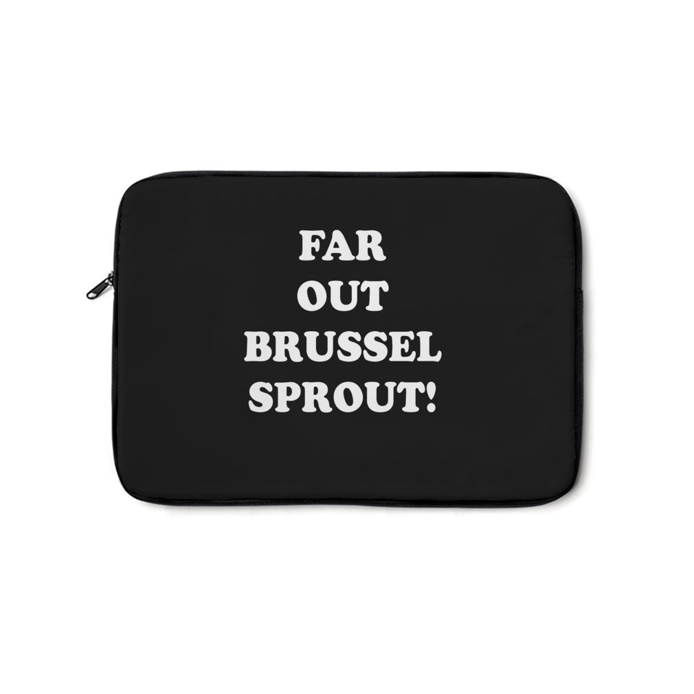 Thumb Far Out Brussel Sprout! Laptop Bag